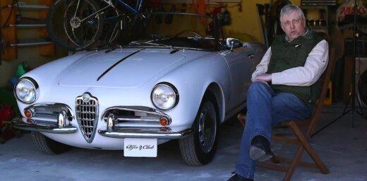 Video: Vairāku klasisko 'Alfa Romeo' auto īpašnieka Egila stāsts