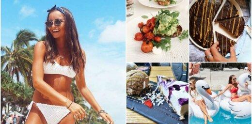 Foto: Sofija, kura pelna iztiku ar ēdienu bildītēm