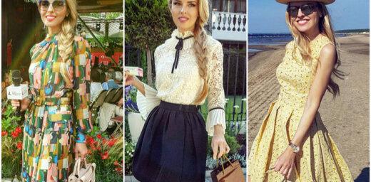 Foto: Maijas Silovas sievišķīgi elegantais vasaras stils