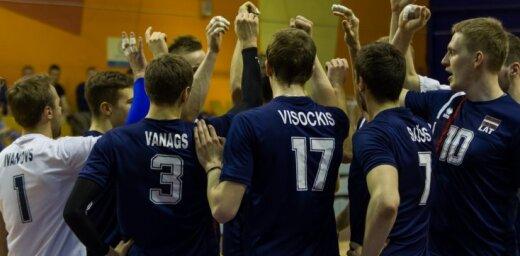 Kēls vairākus mēnešus pirms treniņiem paziņo Latvijas volejbola izlases kandidātus