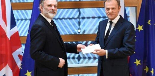 Лондон подал официальную заявку на выход из ЕС