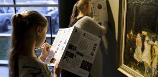 Radīta mākslas piedzīvojumu karte bērniem mākslinieka Tīdemaņa iepazīšanai