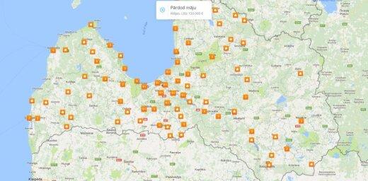 Pārdod māju vai izīrē māju Rīgā, Jūrmalā, Latvijā - kur un par kādu cenu