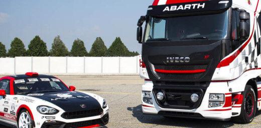 'Iveco' kravas vilcējs sportiskajā 'Abarth' versijā