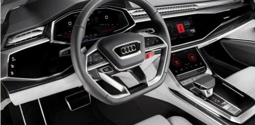 'Audi Q8 Sport' informācijas un izklaides sistēmā integrē jauno 'Android' operētājsistēmu