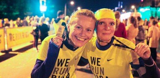 Lielākā rudens skrējiena 'We Run Riga' spilgtākie fotomirkļi