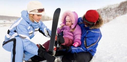Выходные для лыжников: в очереди на подъемник— до 10 минут