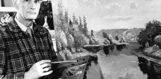 Arhīva foto: Izcilajam gleznotājam Leo Svempam – 120