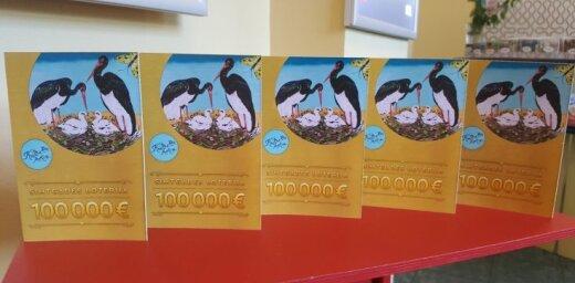 Dagdas novada iedzīvotājs Simtgades loterijā laimē 100 tūkstošus eiro