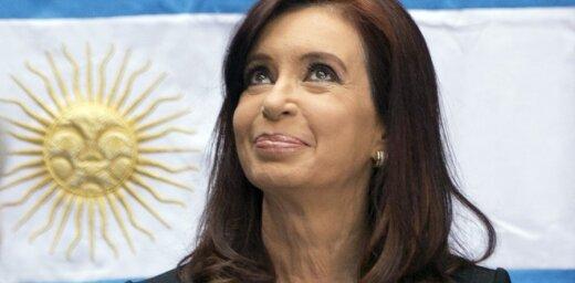 Argentīnas prezidente nav noskatījusies nevienu Pasaules kausa spēli