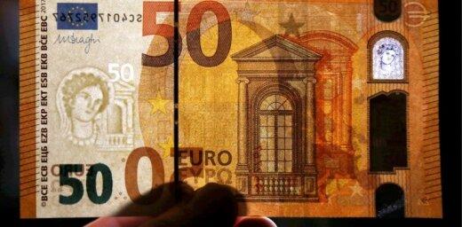 Apgrozībā nonāk jaunā 50 eiro banknote: kā to pārbaudīt