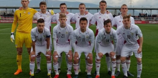 Latvijas U-19 futbolistiem uzvara EČ kvalifikācijas elites kārtas ievadā