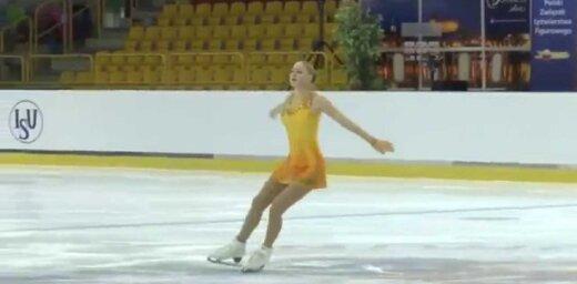 Diana Nikitina, figure skating