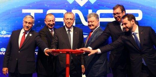 В Турции открыли газопровод TANAP