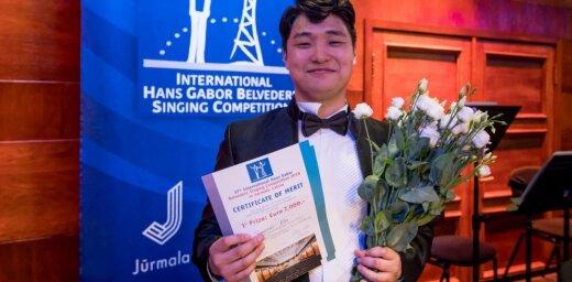 Belvederes jauno operdziedātāju konkursā uzvar tenors Sungo Kims no Dienvidkorejas