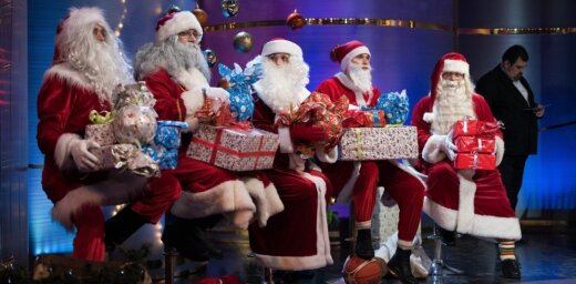 Titulu 'ĪSTAIS Ziemassvētku vecītis' un 1000 eiro dāvanu karti saņem vecītis ar 35 gadu pieredzi