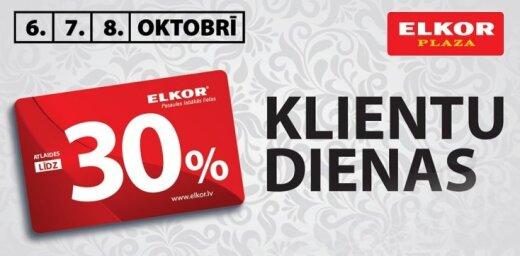 No 6. līdz 8. oktobrim – 'Elkor' Klientu dienas