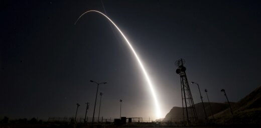 США испытали межконтинентальную ракету Minuteman III