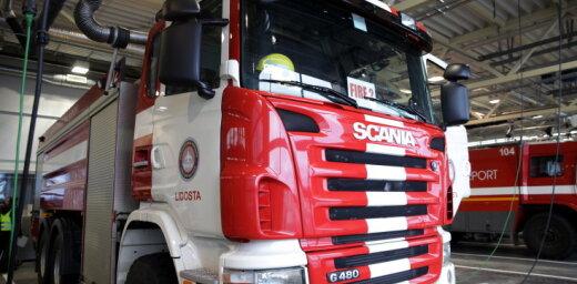 Pirmdien ugunsgrēkos cietuši trīs cilvēki