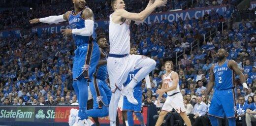 Порзиньгис блеснул результативной игрой в первом матче чемпионата НБА