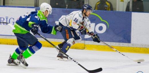 Latvijas hokeja virslīgas čempionātā - seši dalībnieki
