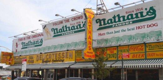 В Риге откроется первое заведение сети закусочных Nathan's Famous
