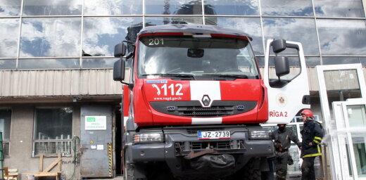 В Латвии было потушено 14 пожаров, люди не пострадали