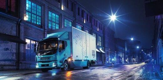 'Volvo' prezentējis savu pirmo elektrisko kravas auto
