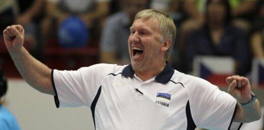 Latvijas vīriešu volejbola izlases galvenā trenera amatā ieceļ igauni Avo Kēlu