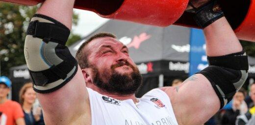 Artis Plivda sīvā konkurencē izcīna gada spēkavīra titulu