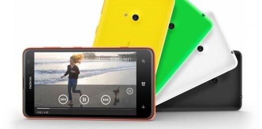 Prezentē budžeta klases viedtālruni ar 4.7 collu ekrānu 'Nokia Lumia 625'