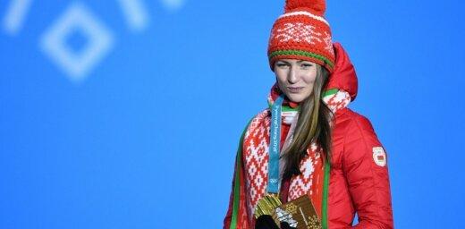 Olimpiskā čempione Domračova nosaukta par ietekmīgāko sievieti Baltkrievijā