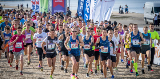 Majoru pludmalē risināsies tradicionālie Jūrmalas skriešanas svētki