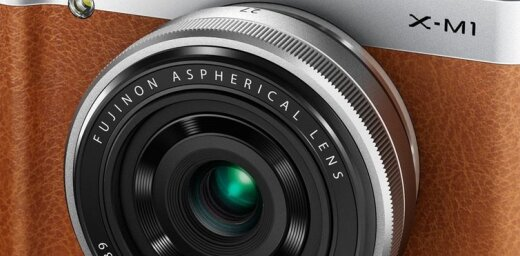'Fuji' laiž klajā mazāku un lētāku maināmo objektīvu kompaktkameru 'X-M1'