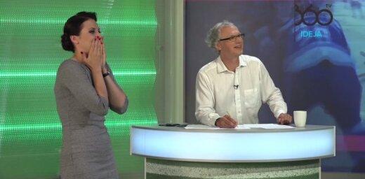 Video: Rakovskai kļūst karsti, Frīdenbergs 'iet uz visu banku' spēlē 'Vai zini vairāk par Kreipānu?'