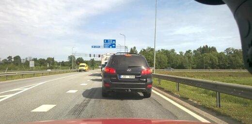 Video: Autoavārija uz Rīgas apvedceļa