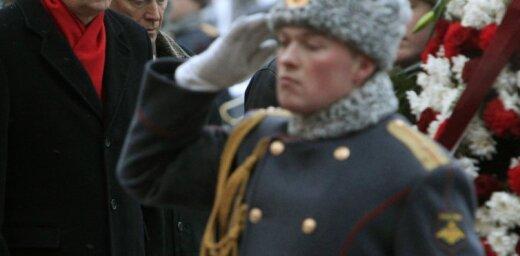 История дня: как латвийские министры и президенты в Москву последние 10 лет ездили