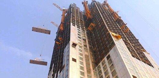 Time lapse: китайцы построили 57-этажный небоскреб за 19 дней