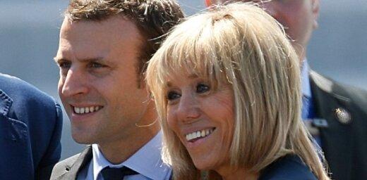 Первой леди Франции может стать учительница Макрона, которая на 24 года старше мужа