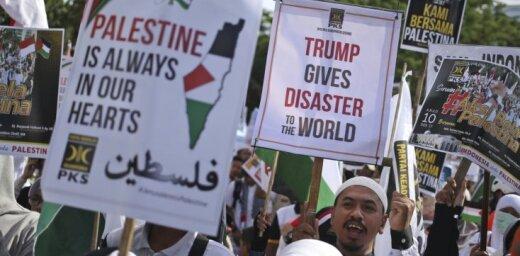 Arābu valstu ministri pieprasa atcelt Trampa lēmumu par Jeruzalemi