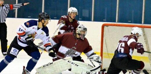 'Venta 2002' hokejisti atkārtoti kļūst par Latvijas pirmās līgas čempioniem