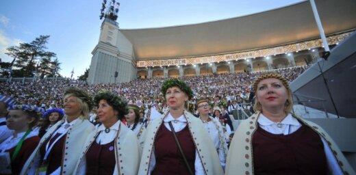 Dziesmu svētku noslēguma koncertu varēs skatīties uz lielajiem ekrāniem pilsētvidē
