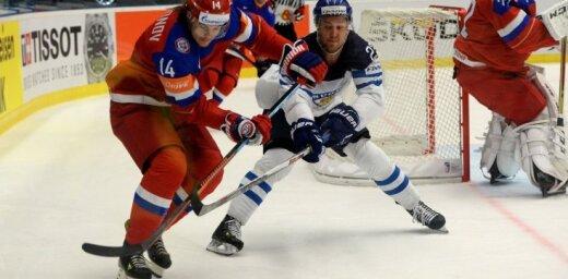 Somijas izlase pagājušā gada PČ finālā atkārtojumā 'bullīšos' pieveic Krieviju