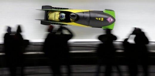 Jamaikas bobsleja izlase ar pūļa finansējumu cer tikt pie starta nākamajā olimpiādē