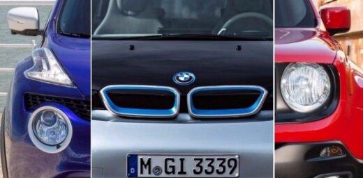 10 jancīgākā dizaina jaunie automobiļi