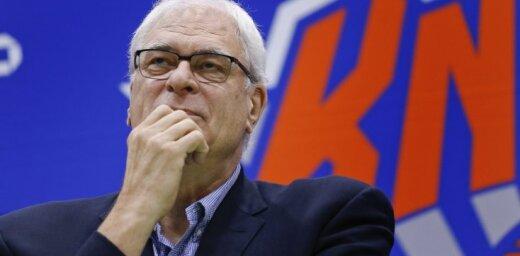 Amerikāņu žurnālists par Porziņģa situāciju Ņujorkā: Džeksonam jāpamet 'Knicks' prezidenta amats