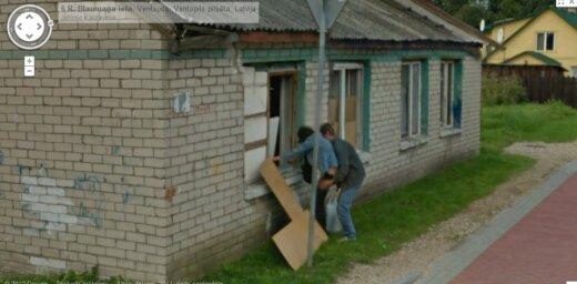 Noskaidroti 'Google Street View' neparasto attēlu Latvijā konkursa uzvarētāji