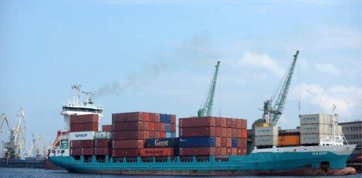 Baltijas valstu ostās kravu apgrozījums janvārī samazinājies par 8,4%