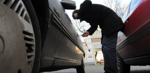 В Ильгюциемсе полиция задержала автовора