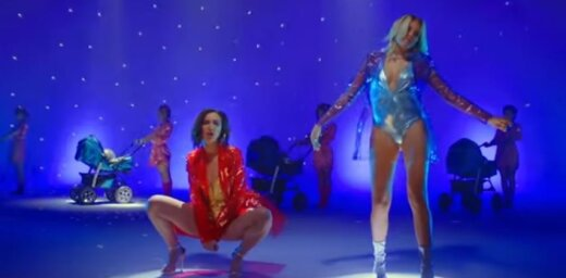 'Dom 2' zvaigzne Buzova prezentē draisku mūzikas klipu
